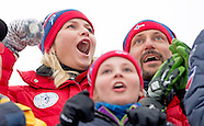 Crown Prince Haakon and Crown Princess Mette-Marit of Norway  during Falun 2015