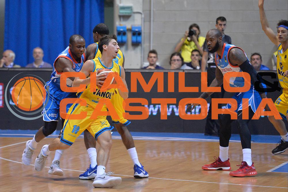Ruzzier Michele<br /> Cant&ugrave; - Cremona<br /> Lega Basket Serie A 2017-2018<br /> Cremona 07/10/2017<br /> Foto di Ivan Mancini/Ciamillo-Castoria