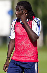 04.07.2011, Alois Latini Stadion, Zell am See, AUT, Olympique Lyon, Training, im Bild Bafetimbi Gomis, Olympique Lyon // during a training session of AUT, Olympique Lyon, in Zell am See, Austria on 2011/07/04, EXPA Pictures © 2011, PhotoCredit: EXPA/ J. Feichter