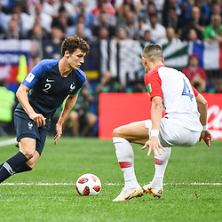 Benjamin Pavard of France during the World Cup Final match between France and Croatia at Luzhniki Stadium on July 15, 2018 in Moscow, Russia. (Photo by Anthony Dibon/Icon Sport)