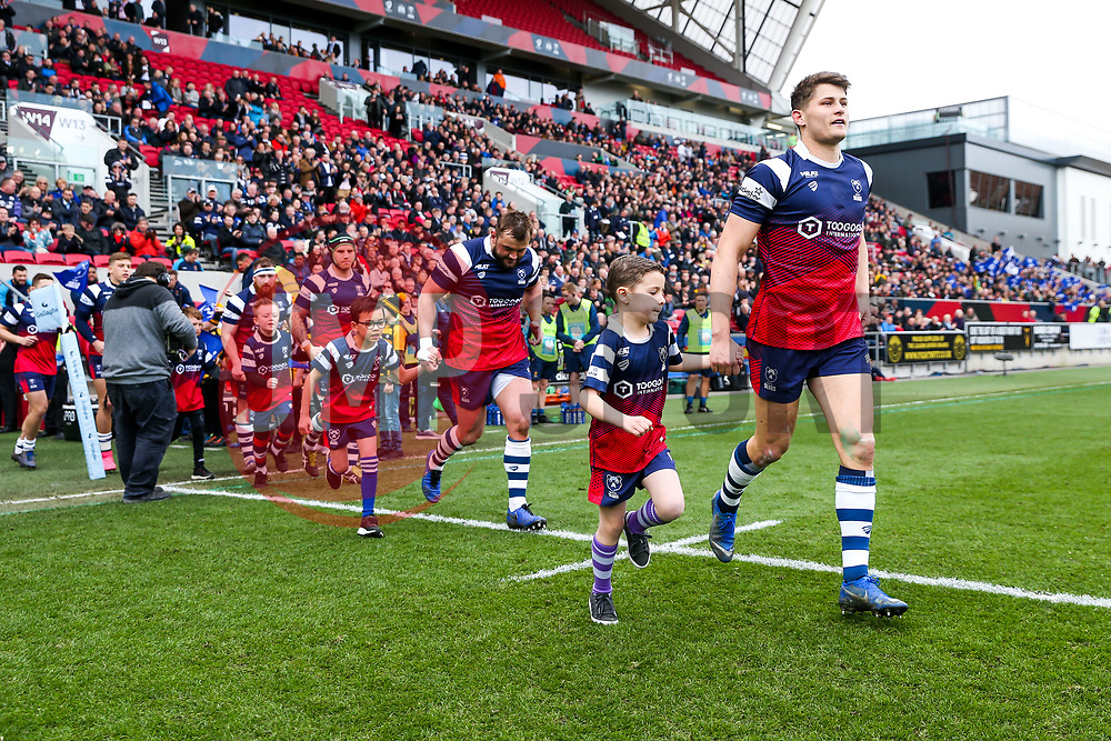 Mascots - Rogan/JMP - 23/03/2019 - RUGBY UNION - Ashton Gate Stadium - Bristol, England - Bristol Bears v Worcester Warriors - Gallagher Premiership Rugby.
