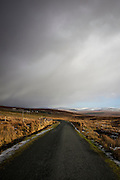 "Snow clouds loom over the R230 from Glencolumkille to Ardara Road in Donegal, Ireland, January 2015. Copyright Dave Walsh This mage can be licensed via Millennium Images. Contact me for more details, or email mail@milim.com For prints, contact me, or click ""add to cart"" to some standard print options."