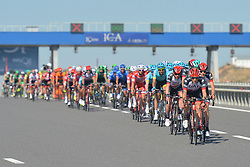 October 15, 2017 - Istanbul, Turkey - The peloton during the final sixth stage - the 143.7km Salcano Istanbul to Istanbul stage of the 53rd Presidential Cycling Tour of Turkey 2017..On Sunday, 15 October 2017, in Istanbul, Turkey. (Credit Image: © Artur Widak/NurPhoto via ZUMA Press)