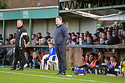 Havant & Waterlooville Manager Lee Bradbury during the Ryman Premier League match between Bognor Regis Town and Havant & Waterlooville FC at Nyewood Lane, Bognor, United Kingdom on 26 December 2016. Photo by Jon Bromley.
