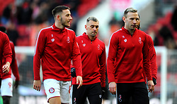 Jack Hunt of Bristol City prior to kick-off-Mandatory by-line: Nizaam Jones/JMP - 18/01/2020 - FOOTBALL - Ashton Gate - Bristol, England - Bristol City v Barnsley - Sky Bet Championship