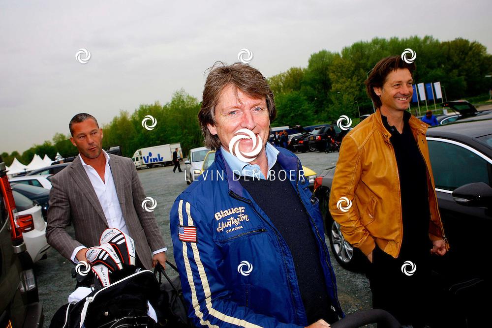 BADHOEVEDORP - De DON Masters is een celebrity golftoernooi, waarbij iedere flight bestaat uit 3 deelnemers en 1 bekende Nederlander. Het toernooi plaats op Golfclub The International. Met op de foto  Erik de Zwart. FOTO LEVIN DEN BOER - PERSFOTO.NU
