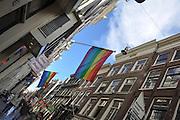 Amsterdam, Netherlands Pedestrian street