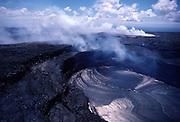 Kilauea Volcano, HVNP, Island of Hawaii<br />