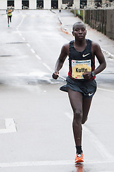 Edwin Kutto of Kenia at 17th Ljubljana Marathon 2012 on October 28, 2012 in Ljubljana, Slovenia. (Photo By Matic Klansek Velej / Sportida.com)