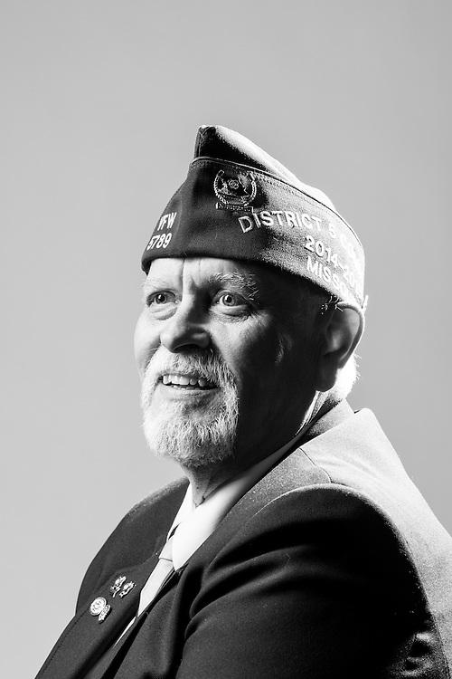 Larry Phillips<br /> Army<br /> E-5<br /> Security Agency<br /> 1969 - 1972<br /> Vietnam<br /> <br /> Veterans Portrait Project<br /> St. Louis, MO