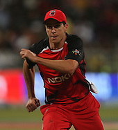 Cullen Bailey  during match 11 of the Airtel CLT20 between The South Australian Redbacks and The Royal Challengers Bangalore held at Kingsmead Stadium in Durban on the 17 September 2010..Photo by: Steve Haag/SPORTZPICS/CLT20.
