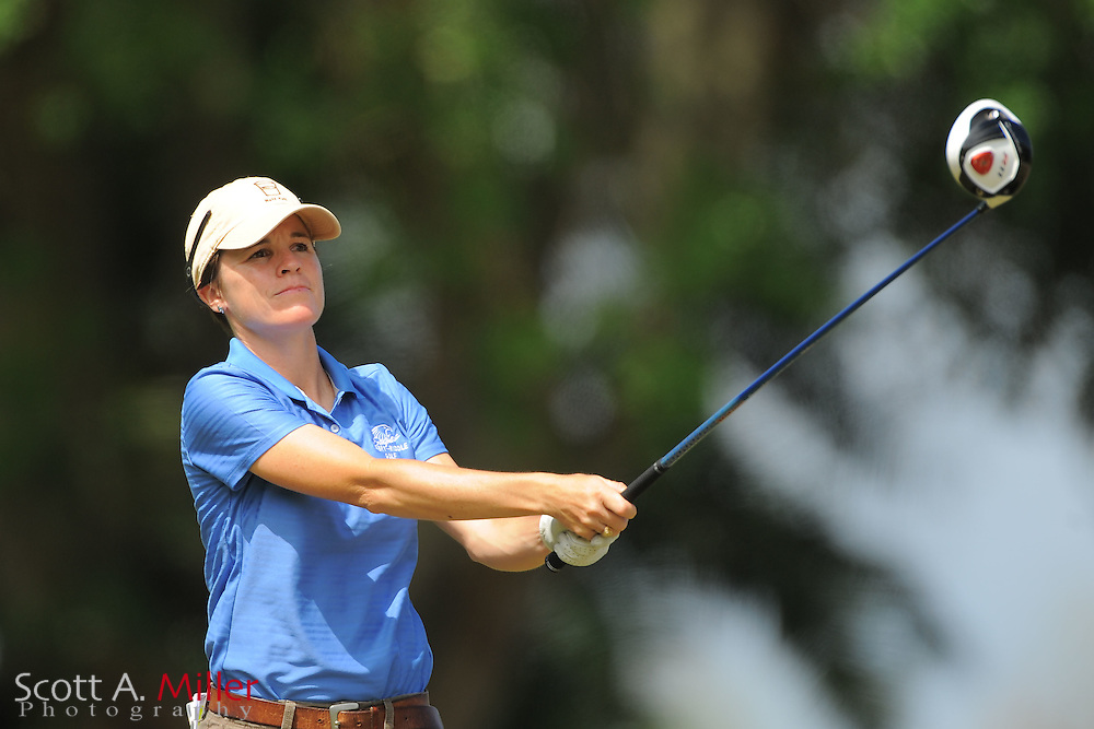 Jamie Hullett during the second round of the Symetra Tour's Florida's Natural Charity Classic at the Lake Region Yacht and Country Club on March 24, 2012 in Winter Haven, Fla. ..©2012 Scott A. Miller.