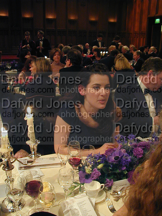 Nigella Lawson. The Booker prize 2000. Guildhall, London EC2. 7 November 2000. © Copyright Photograph by Dafydd Jones 66 Stockwell Park Rd. London SW9 0DA Tel 020 7733 0108 www.dafjones.com