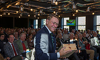 UTRECHT -    aftredend president NGF , , Willem Zelsmann,   Algemene Ledenvergadering van de Nederlandse Golf Federatie NGF.   COPYRIGHT KOEN SUYK