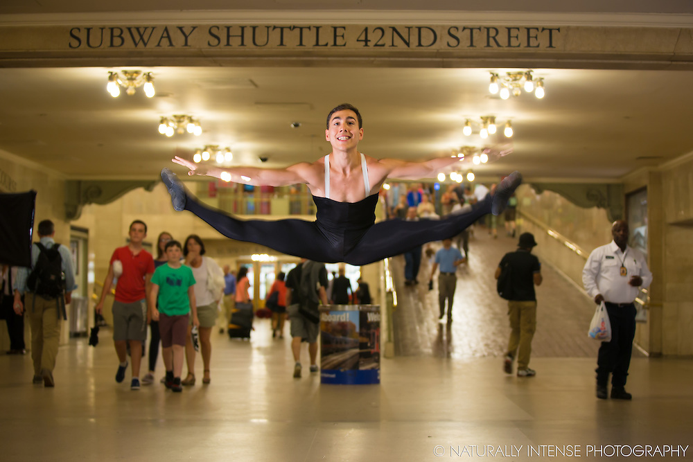 Grand Central Station, New York, NY. Dance As Art- The New York Photography Project featuring Luke Muscat.