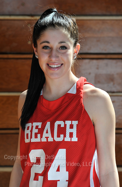 Katelynn Flaherty of Point Pleasant Beach made the All State Girls basketball team. / Russ DeSantis Photography and Video, LLC