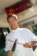 Chef Kazu. Moorish Cafe. Photo Shane Eecen
