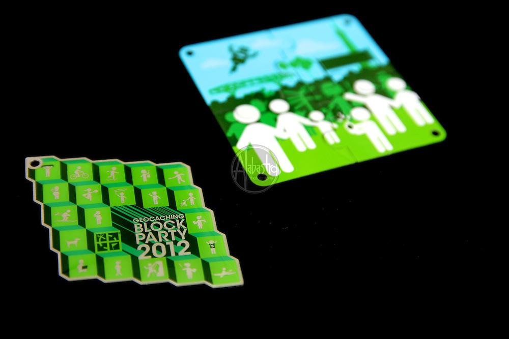 Groundspeak Geocaching Block Party 2012.