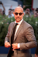 Actor Stanley Tucci at the gala screening for the film Spotlight at the 72nd Venice Film Festival, Thursday September 3rd 2015, Venice Lido, Italy.