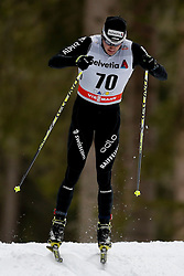 13.12.2014, Davos, SUI, FIS Langlauf Weltcup, Davos, 15 km, Herren, im Bild Dario Cologna (SUI) // during Cross Country, 15km, men at FIS Nordic world cup in Davos, Switzerland on 2014/12/13. EXPA Pictures © 2014, PhotoCredit: EXPA/ Freshfocus/ Christian Pfander<br /> <br /> *****ATTENTION - for AUT, SLO, CRO, SRB, BIH, MAZ only*****