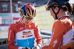 Christine Majerus (Boels Dolmans) - Le Samyn des Dames 2016, a 113km road race from Quaregnon to Dour, on March 2, 2016 in Hainaut, Belgium.
