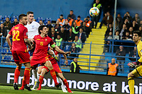PODGORICA, MONTENEGRO - MARCH 25: England's Michael Keane during the 2020 UEFA European Championships group A qualifying match between Montenegro and England at Podgorica City Stadium on March 25, 2019 in Podgorica, Montenegro. (MB Media)