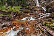 Virginia Falls in Glacier National Park, Montana, USA