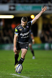 George Ford of Bath Rugby kicks for the posts - Mandatory byline: Patrick Khachfe/JMP - 07966 386802 - 23/01/2016 - RUGBY UNION - The Recreation Ground - Bath, England - Bath Rugby v RC Toulon - European Rugby Champions Cup.