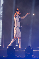 Real Madrid Karim Benzema during the celebration of the 13th UEFA Championship at Santiago Bernabeu Stadium in Madrid, June 04, 2017. Spain.<br /> (ALTERPHOTOS/BorjaB.Hojas)