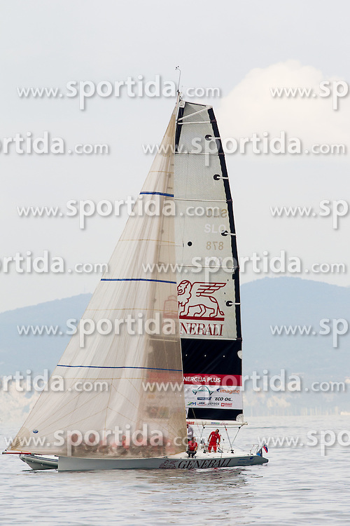 Energija Plus of Generali during the North Adriatic regatta Barcolana 2014, on October 12, 2014 in Gulf of Trieste, Italy. Photo by Vid Ponikvar / Sportida.com