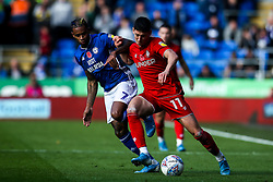 Callum O'Dowda of Bristol City takes on Leandro Bacuna of Cardiff City - Mandatory by-line: Robbie Stephenson/JMP - 10/11/2019 -  FOOTBALL - Cardiff City Stadium - Cardiff, Wales -  Cardiff City v Bristol City - Sky Bet Championship