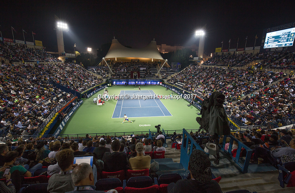Dubai Tennis Feature<br /> <br /> Tennis - Dubai Duty Free Tennis Championships - ATP/WTA/ITF -  Dubai Duty Free Tennis Stadium - Dubai -  - United Arab Emirates  - 1 March 2017. <br /> &copy; Juergen Hasenkopf