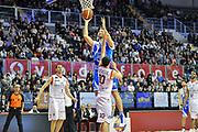Manuel Vanuzzo<br /> Angelico Biella - Banco di Sardegna Dinamo Sassari<br /> Legabasket Serie A Beko 2012-2013<br /> Biella, 20/01/2013<br /> Foto L.Canu / Ciamillo-Castoria