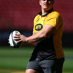 Wilco Louw of South Africa during the South African - Springbok Captain's Run at Emirates Airline Park,<br /> Johannesburg .South Africa. 08,06,2018 Photo by (Steve Haag Sports)