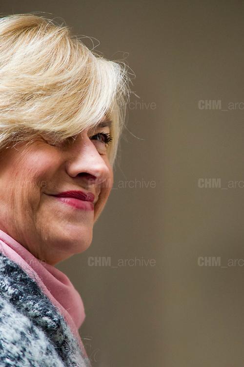 Roberta Pinotti at Palazzo Chigi. Rome 5 january 2018. Christian Mantuano / OneShot