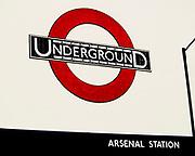 Arsenal tube station, London, 2008