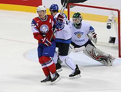 12.05.2011, Orange Arena, Bratislava, SVK, IIHF 2011 World Championship, Finnland vs Norway, im Bild KRAZEK UDERZA HANSENA. EXPA Pictures © 2011, PhotoCredit: EXPA/ EXPA/ Newspix/ .Tadeusz Bacal +++++ ATTENTION - FOR AUSTRIA/(AUT), SLOVENIA/(SLO), SERBIA/(SRB), CROATIA/(CRO), SWISS/(SUI) and SWEDEN/(SWE) CLIENT ONLY +++++