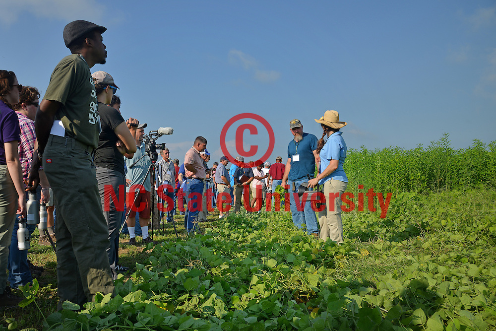 Cover Crop Conference at the Center for Environmental Farming Systems at Cherry Research Farm outside Goldsboro, NC.