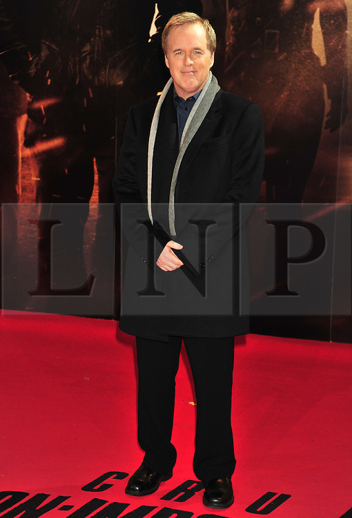 © Licensed to London News Pictures. 13/12/2011. London, England.Diirector Brad Bird attends the UK premiere of Mission Impossible - Ghost Protocol at the IMAX in London .  Photo credit : ALAN ROXBOROUGH/LNP