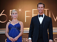 """Cannes, 26.05.2012: REESE WITHERSPOON AND MATHEW McCONAUGHEY.at the 65th Annual Cannes Film Festival, Palais des Festivals, Cannes, France..Mandatory Credit Photos: ©Photofile/NEWSPIX INTERNATIONAL..**ALL FEES PAYABLE TO: """"NEWSPIX INTERNATIONAL""""**..PHOTO CREDIT MANDATORY!!: NEWSPIX INTERNATIONAL(Failure to credit will incur a surcharge of 100% of reproduction fees)..IMMEDIATE CONFIRMATION OF USAGE REQUIRED:.Newspix International, 31 Chinnery Hill, Bishop's Stortford, ENGLAND CM23 3PS.Tel:+441279 324672  ; Fax: +441279656877.Mobile:  0777568 1153.e-mail: info@newspixinternational.co.uk"""