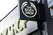 The Body Shop. High street shops and shopping,  January 2009, Lowestoft, Suffolk, England