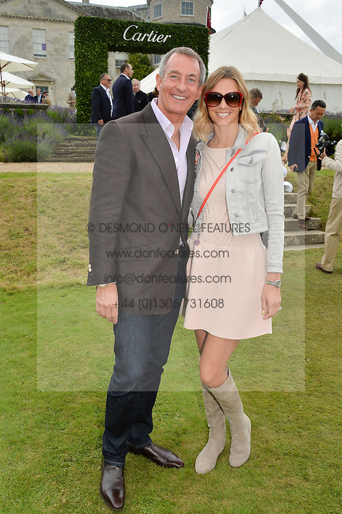 TIM JEFFERIES and his wife MALIN at the Cartier hosted Style et Lux at The Goodwood Festival of Speed at Goodwood House, West Sussex on 26th June 2016.