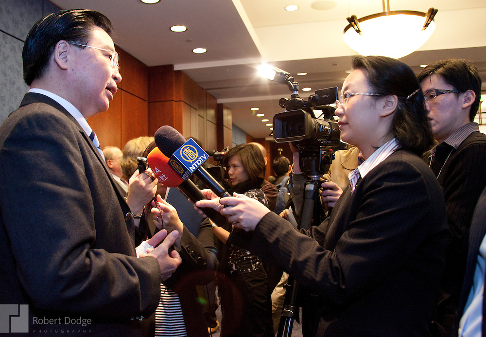 "The Formosa Foundation, which promotes self-determination for Taiwan, held a half-day conference in Washington in December on Taiwan's January 2012 elections. ""Ensuring Free and Fair Elections"" featured members of Congress, including U.S. Sen. Sherrod Brown, D-Ohio, Rep. Howard Berman, D-Ca., Rep. Ed Royce, R-Ca., and Rep. Ileana Ros-Lehtinen, R-Fl., chair of the House Foreign Affairs Committee. Other speakers included Terri Giles, executive director of the Formosa Foundation; Carolyn Bartholomew, U.S.-China Economic and Security Review Commission; Louisa Greve, National Endowment for Democracy; Dr. Jaushieh Wu, National Chengchi University and the International Committee for Fair Elections in Taiwan; Sarah Cook, Freedom House; Julian Baum, journalist."