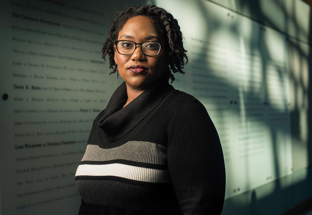WASHINGTON, DC -- 12/5/16 -- Marcia Chatelain is an Associate Professor of History at Georgetown. She has spurred the development of the syllabus as a tool for social justice.…by André Chung #_AC25100