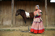 ethnic minority in north vietnam Bắc Hà, Bac Ha,