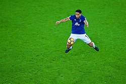 LIVERPOOL, ENGLAND - Monday, December 19, 2016: Everton's Ashley Williams in action against Liverpool during the FA Premier League match, the 227th Merseyside Derby, at Goodison Park. (Pic by Gavin Trafford/Propaganda)