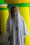 Nagore. Gentleman at the Dargah shrine.