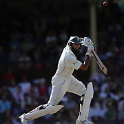 South African batsman Hashim Amla in action during day two of the third test match between Australia and South Africa at the Sydney Cricket Ground on January 4, 2009 in Sydney, Australia. Photo Tim Clayton