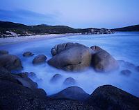Australia rocks in ocean