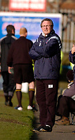 Photo: Leigh Quinnell.<br /> Chesterfield v Southend United. Coca Cola League 1. 18/02/2006. Chesterfield manager Roy McFarland watches on the touch line.
